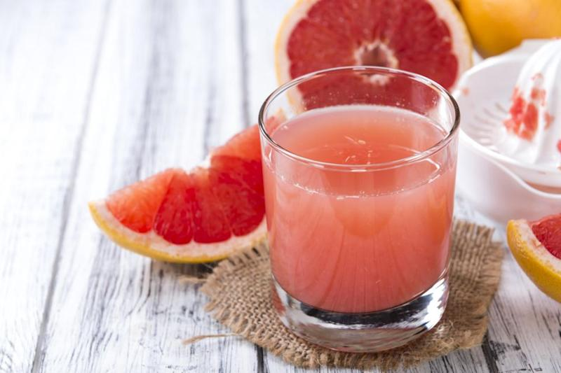 She claims that grapefruit juice stalls the enzymes that break down drugs like painkillers. Photo: Getty Images