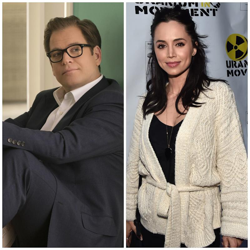 Eliza Dushku, right, got a settlement after she complained that comments from