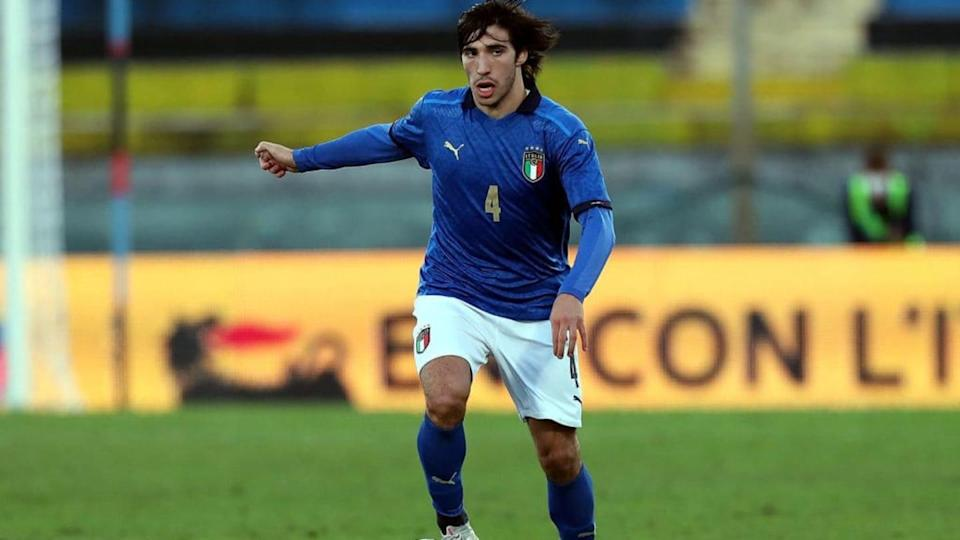 Tonali in Under 21 | Gabriele Maltinti/Getty Images