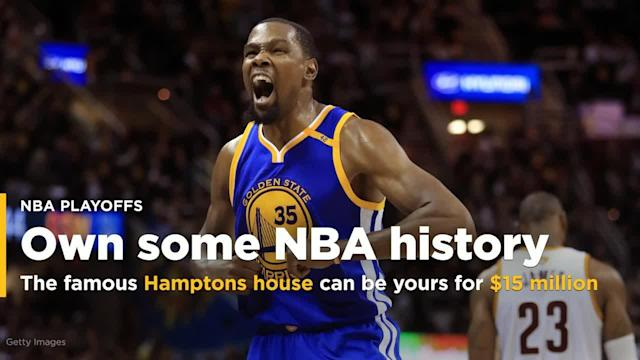 The house that helped create one of the greatest lineups in NBA history is on the market, and if you have about $15 million available, it can be all yours.