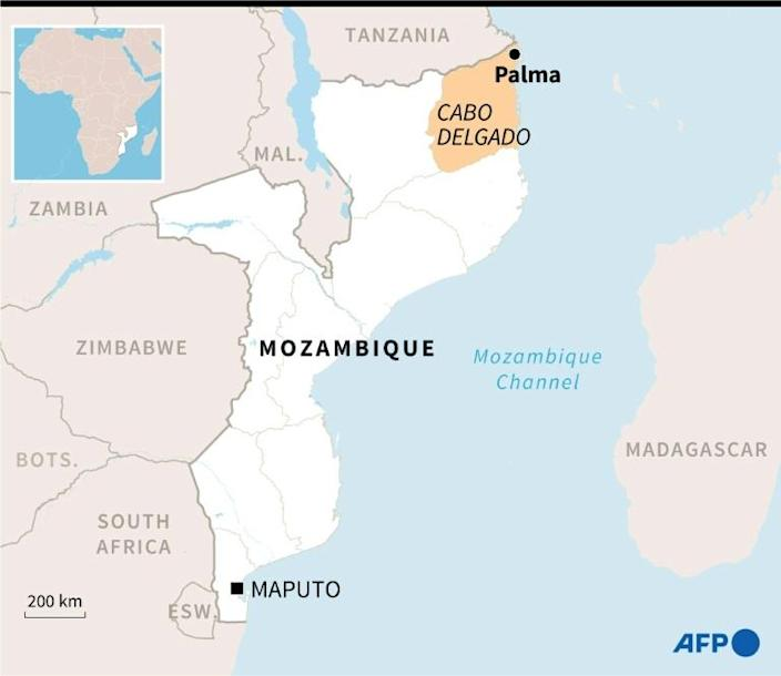 A shadowy jihadist group called Al-Shabab launched a bloody offensive in Cabo Delgado province in 2017 (AFP/Kun TIAN)