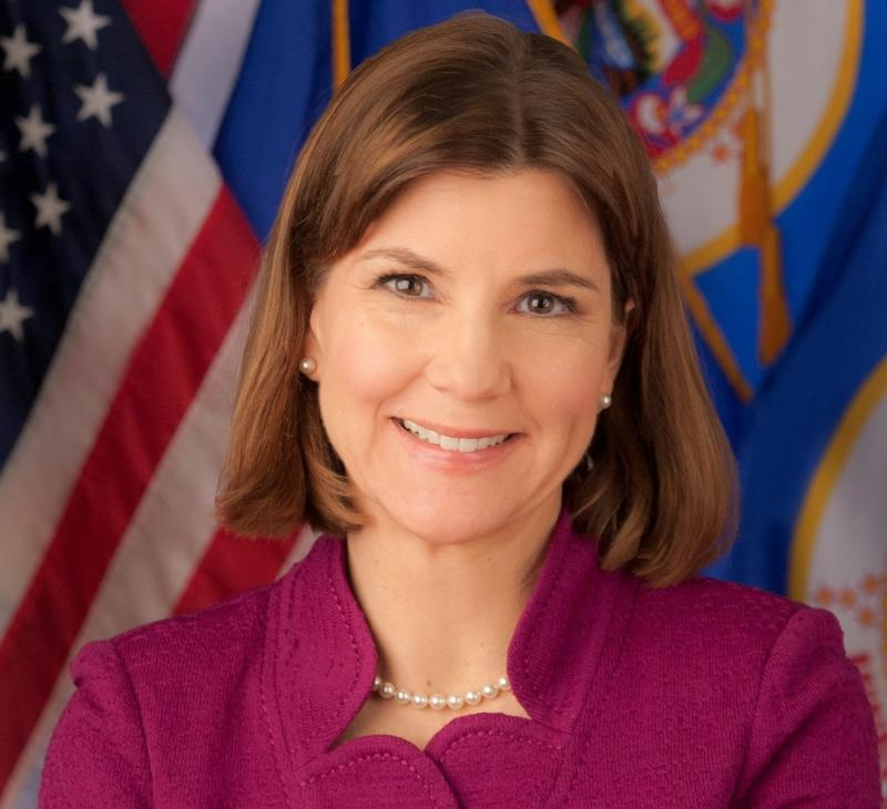 Minnesota Attorney General Lori Swanson was among the state attorneys general to take on President Donald Trump over the travel ban.