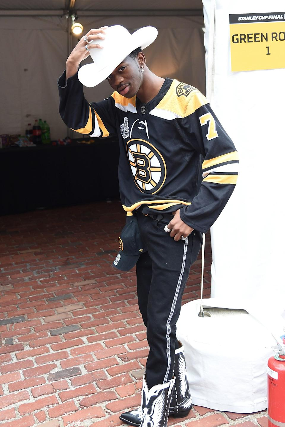 Repping the Boston Bruins!