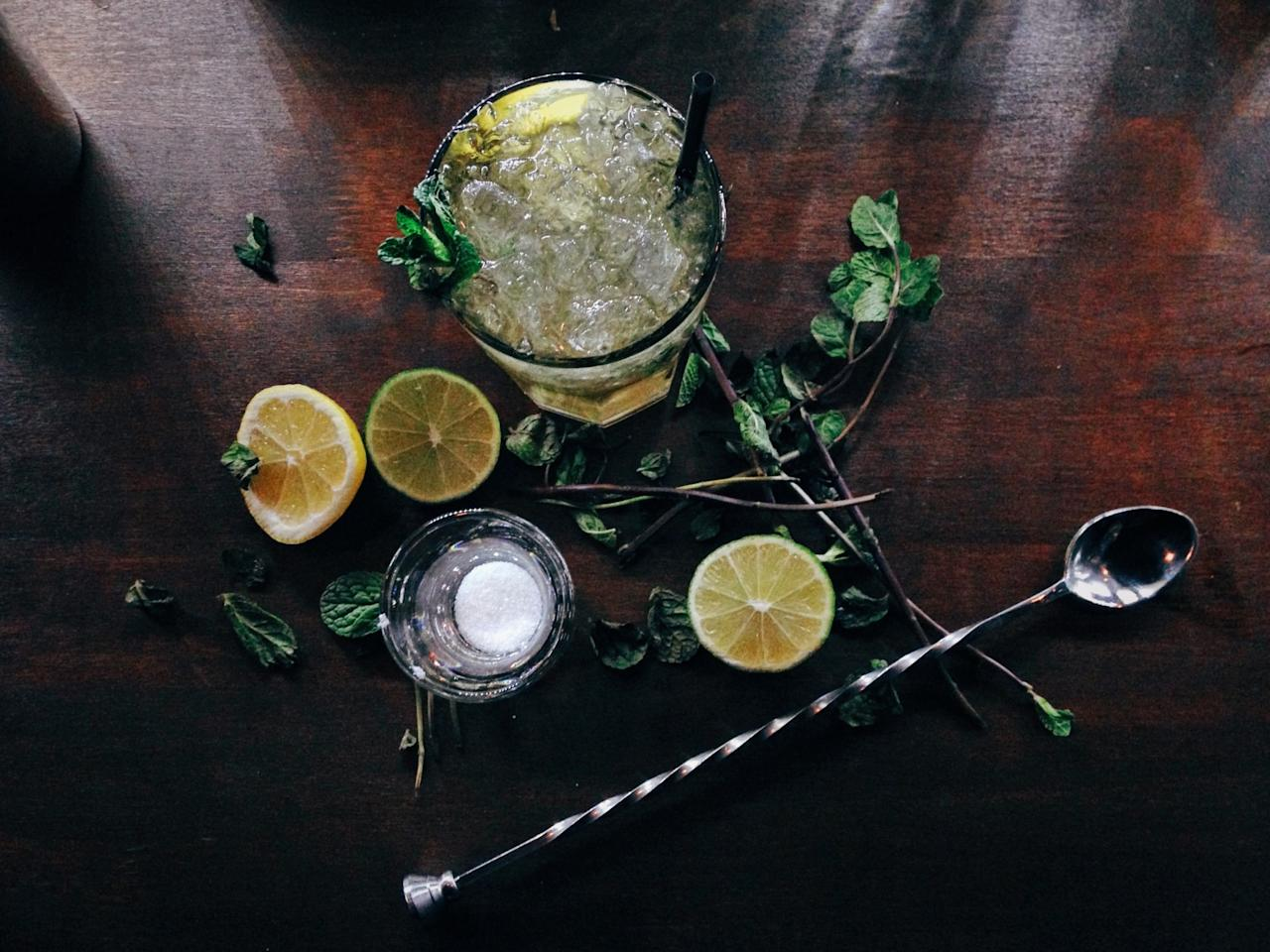 <p>It's all about making something that isn't your normal cocktail [Photo: Getty] </p>