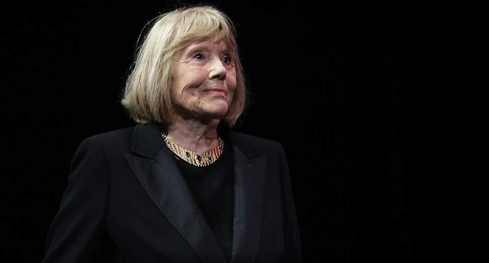 <em>The Avengers</em> actor and <em>Game of Thrones</em> star Dame Diana Rigg was 82 when she died from cancer in September. Also a Bond girl, she was the spy's love interest in <em>On Her Majesty's Secret Service</em> opposite George Lazenby. She was named a Dame in 1994 for her acting achievements. (Photo by Valery Hache/AFP via Getty Images)