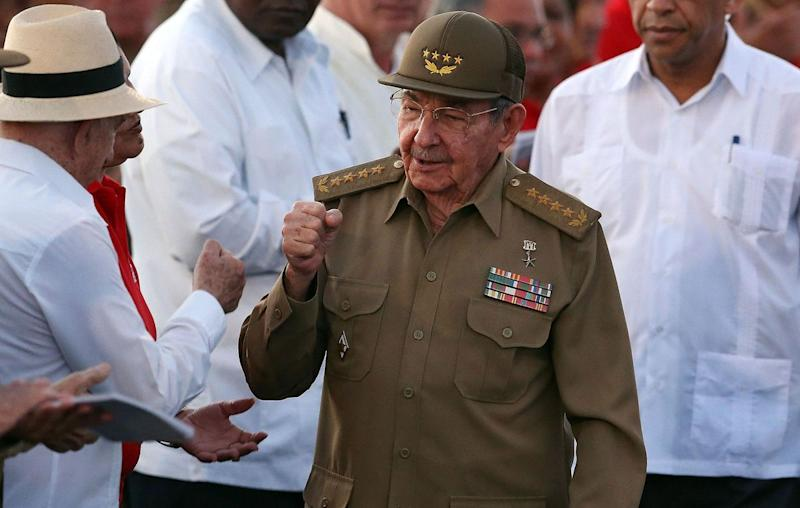 Cuban leader Raul Castro is stepping down in April