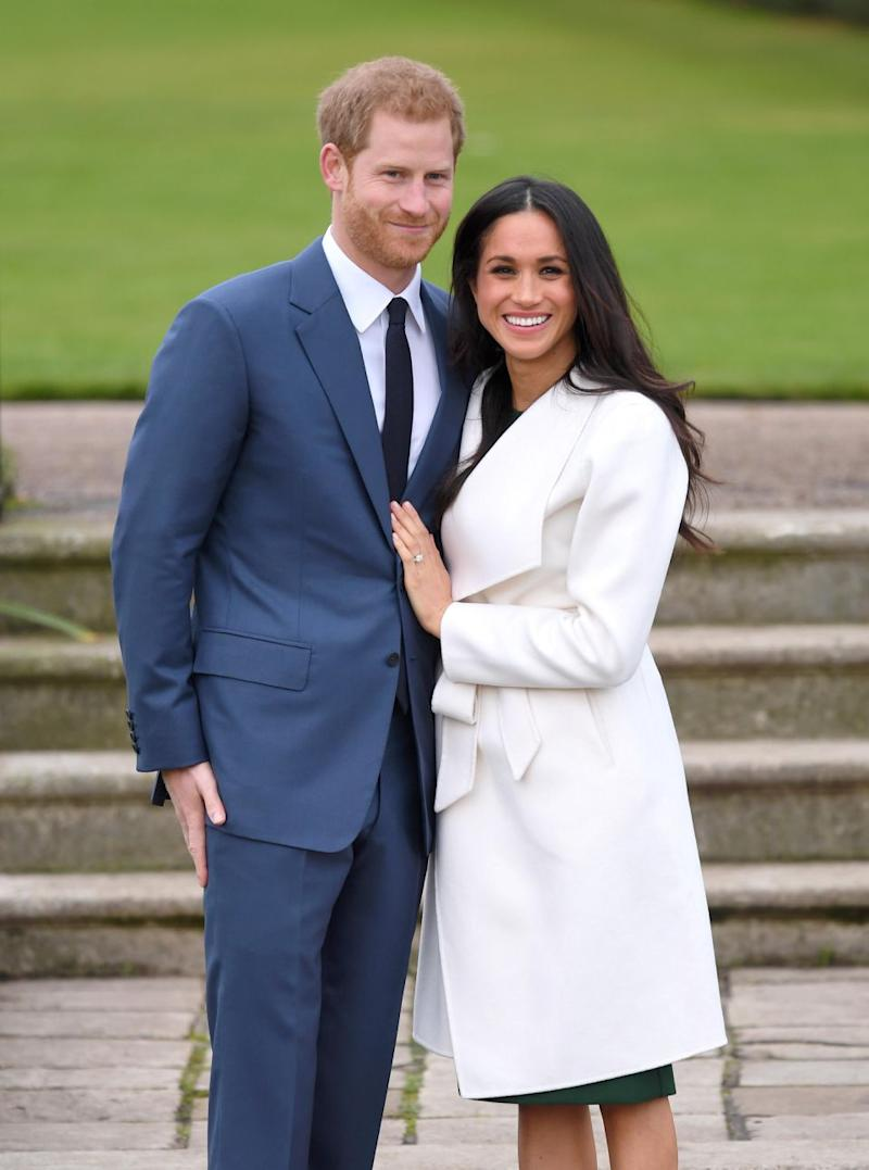 Meghan Markle and Prince Harry are thought to be getting married on May 26. Photo: Getty Images