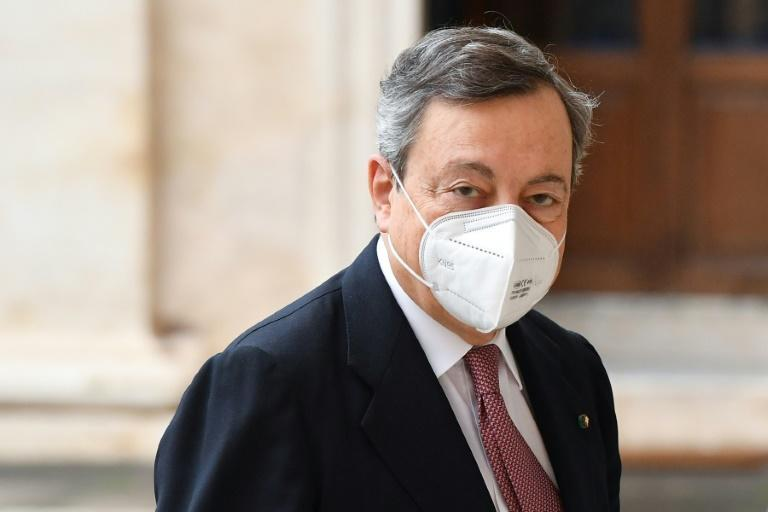 Financial markets welcomed the appointment of Draghi, a former head of the European Central Bank