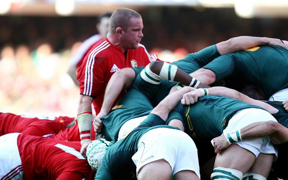 Phil Vickery was left out of the second Test team after the Lions scrum endured a torrid time in Durban - PA