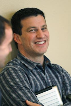 Andrew Friedman, now 37, was hired by the Rays at age 28. (AP)