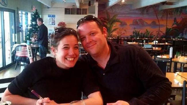 Courtney Halye and Brian Halye, a commerical pilot, were found dead from an apparent drug overdose. Source: Supplied