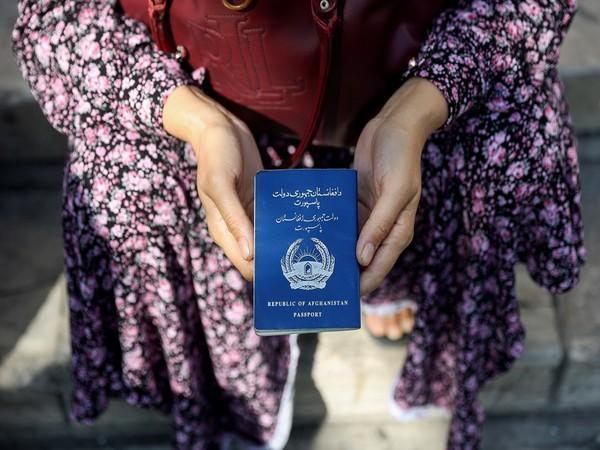 Old passport of the Republic of Afghanistan, which will be replaced by the Taliban. (Photo Credits: Reuters)