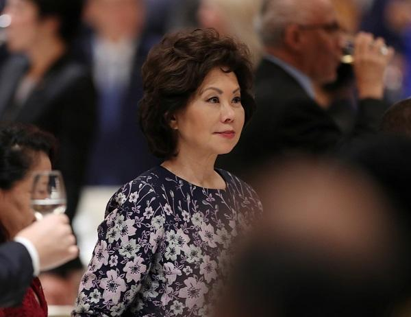 Former US Transportation Secretary Elaine Chao (Credit: Reuters Pictures)