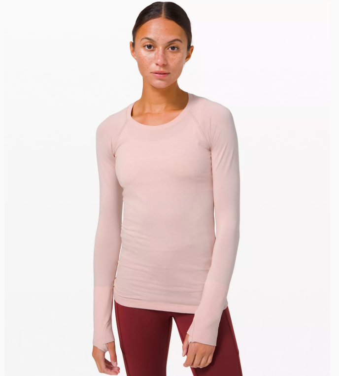 Swiftly Tech Long Sleeve 2.0 (Photo via Lululemon)