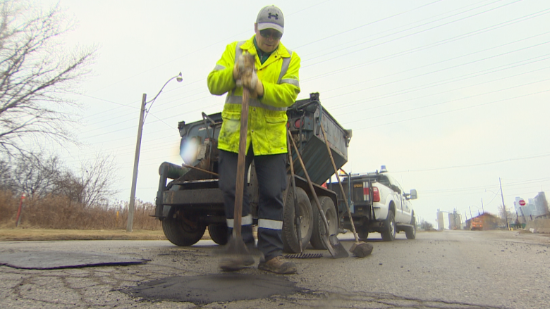 Road crews have filled over 8,000 potholes in less than a month, city says