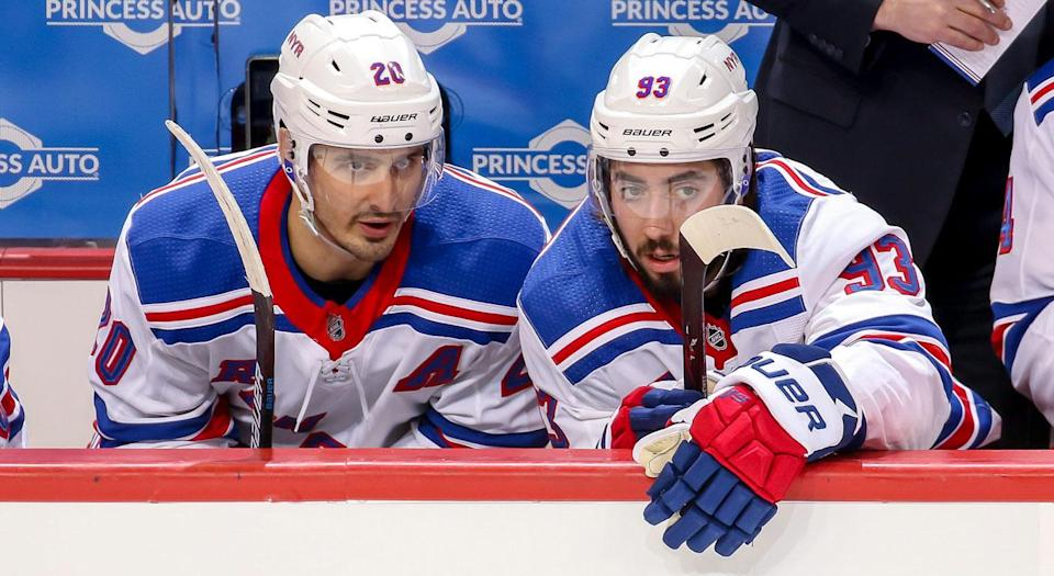 Will these two see the other side of a Rangers rebuild? (Getty)