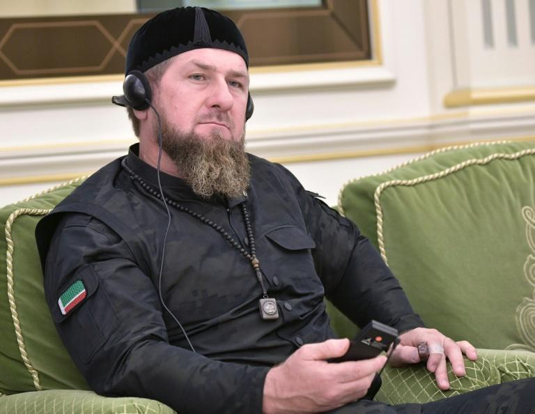 Chechnya's leadership, under Ramzan Kadyrov (pictured here), had been the target of criticism by Imran Aliev, whose mutilated body was found in the French city of Lille in January (AFP Photo/Alexey NIKOLSKY)