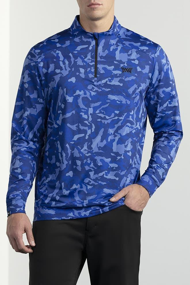 "<p><strong>Paratrooper Blue Fairway Camo Essential Pullover</strong></p><p>pxg.com</p><p><strong>$180.00</strong></p><p><a href=""https://www.pxg.com/en-us/apparel/mens/tops/pullovers/fairway-camo%E2%84%A2-essential-pullover"" rel=""nofollow noopener"" target=""_blank"" data-ylk=""slk:Shop Now"" class=""link rapid-noclick-resp"">Shop Now</a></p><p>If you're lookin' to get loud, PXG's paratrooper camo is a fine choice. Fun fact: The camo pattern is one of a kind, and inspired by the actual fairways of the Scottsdale National Golf Club.</p>"