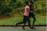 <p>We could just sit for two hours with our friends munching on scones, but that's perfectly good running time, so let's jog 10 miles at a conversational pace instead.</p>