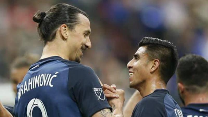 'Zlatan is a personality' - Corona says it was a 'privilege' to play with Ibrahimovic in wake of teammate criticism