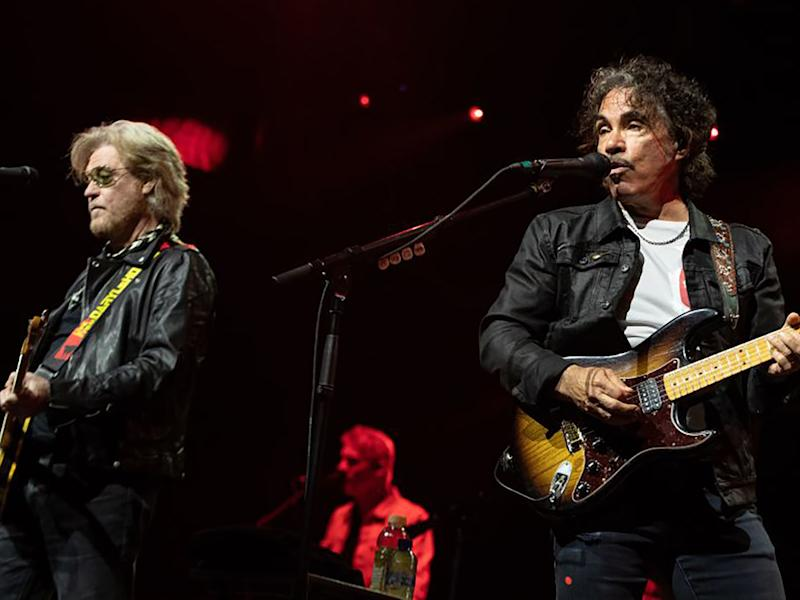 Daryl Hall and John Oates perform at a jazz festival in the Netherlands in 2019AFP/Getty