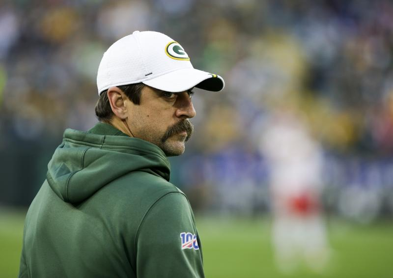 Is it wise to spend a high pick on a quarterback when Aaron Rodgers is still around? (AP Photo/Mike Roemer)