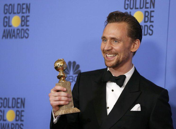 Hiddleston... has said sorry for his Globes speech - Credit: Reuters