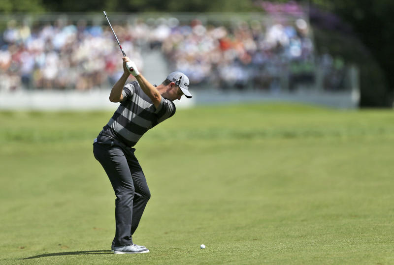 3-way tie for halfway lead at BMW PGA Championship