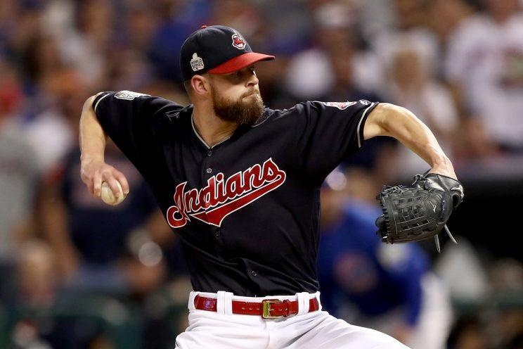 Corey Kluber is poised for another big season with the Indians. (Getty Images)