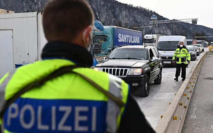 Some 5,000 people were turned away from Tyrol's border with Germany - Lennart Preiss/Getty Images Europe