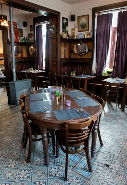 The PastaCafe in Alsemberg, in the Dutch-speaking Flemish Brabant region, is one of Belguim's historic cafes that has best kept its 1920s and 1930s decor