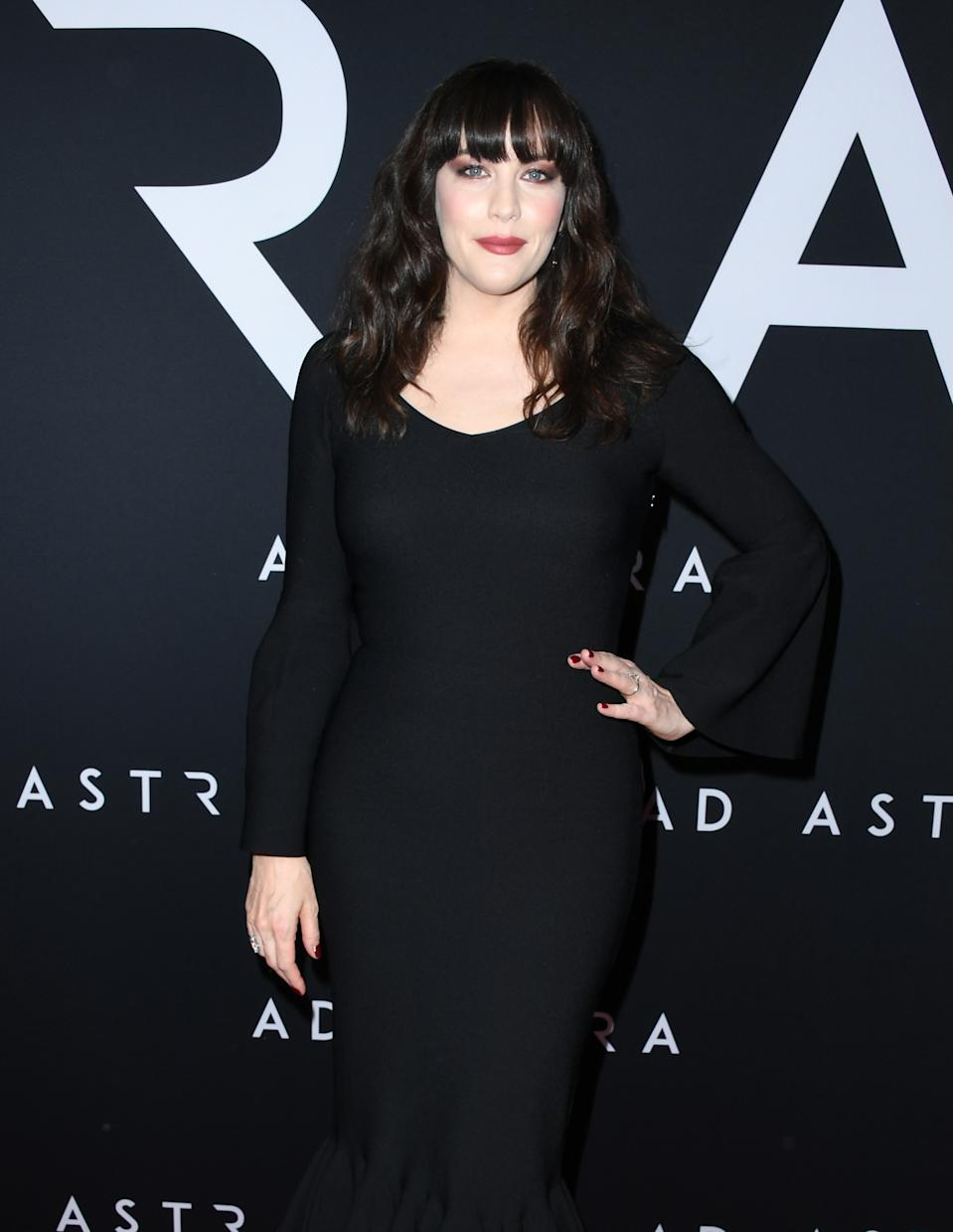 "LOS ANGELES, CALIFORNIA - SEPTEMBER 18:  Liv Tyler attends the Premiere Of 20th Century Fox's ""Ad Astra"" at The Cinerama Dome on September 18, 2019 in Los Angeles, California. (Photo by Jon Kopaloff/FilmMagic)"