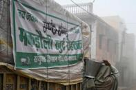 Tens of thousands of farmers have been camping outside Delhi in the winter cold since late November, calling for the repeal of new agriculture laws