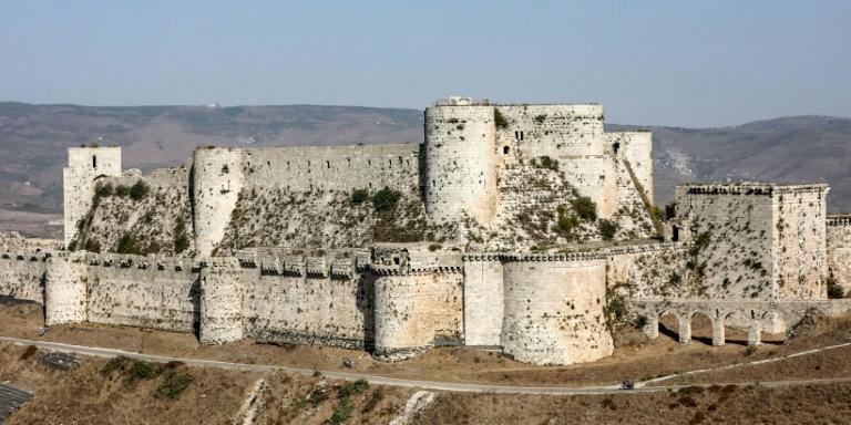 Before civil war broke out in 2011, the famed Crusader castle of Krak des Chevaliers was one of Syria's main tourist attractions but the long years of fighting, during which it was again a battlefield, have kept the visitors away