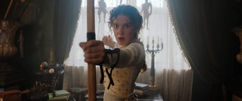 Review: Millie Bobby Brown has fun with 'Enola Holmes'