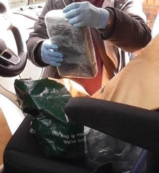 <p>Some of the drugs recovered in the police raid</p> (Met Police )