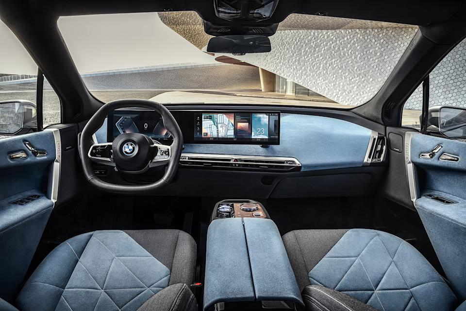 BMW iX EV interior