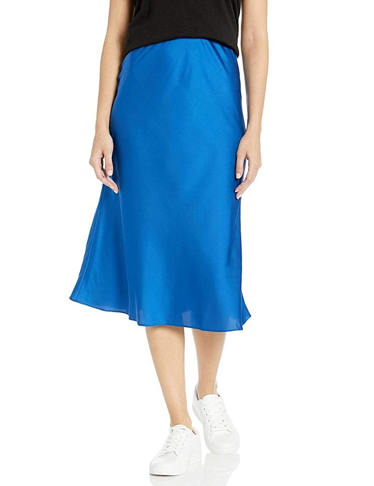 """<p>Pantone's color of the year is Classic Blue, and I plan to incorporate more of it into my wardrobe. I love this <a href=""""https://www.popsugar.com/buy/Drop-Maya-Silky-Slip-Skirt-536421?p_name=The%20Drop%20Maya%20Silky%20Slip%20Skirt&retailer=amazon.com&pid=536421&price=45&evar1=fab%3Aus&evar9=47060305&evar98=https%3A%2F%2Fwww.popsugar.com%2Ffashion%2Fphoto-gallery%2F47060305%2Fimage%2F47060758%2FDrop-Maya-Silky-Slip-Skirt&list1=shopping%2Camazon%2Ceditors%20pick%2Cwinter%20fashion&prop13=mobile&pdata=1"""" rel=""""nofollow"""" data-shoppable-link=""""1"""" target=""""_blank"""" class=""""ga-track"""" data-ga-category=""""Related"""" data-ga-label=""""https://www.amazon.com/dp/B07YFTTH5P/ref=thedrp_cr_ctlg_dp?th=1"""" data-ga-action=""""In-Line Links"""">The Drop Maya Silky Slip Skirt</a> ($45) to wear with a graphic tee or cropped sweater.</p>"""
