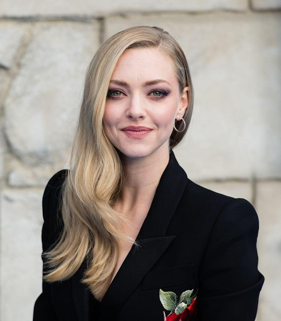 """<p>Nude hair is about balance — take <strong>Amanda Seyfried</strong> for example. """"There's an even amount of both warm and cool tones, which cancel each other out to create a neutral color,"""" explains <a class=""""link rapid-noclick-resp"""" href=""""https://www.instagram.com/merikateoconnor/"""" rel=""""nofollow noopener"""" target=""""_blank"""" data-ylk=""""slk:Meri Kate O'Connor"""">Meri Kate O'Connor</a>, senior colorist and educator at <a class=""""link rapid-noclick-resp"""" href=""""http://evascrivo.com/"""" rel=""""nofollow noopener"""" target=""""_blank"""" data-ylk=""""slk:Eva Scrivo Salons"""">Eva Scrivo Salons</a> in New York City. Bonus: They're very flattering on all skin tones. """"Neutral colors are trendy because they're so easy to wear,"""" says O'Connor. </p>"""