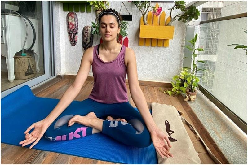 Taapsee Pannu Says Social Distancing Should Be Maintained Regardless of Coronavirus