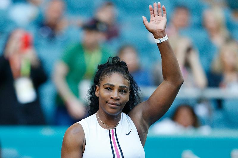 Serena Williams opens clay-court season with win in Rome