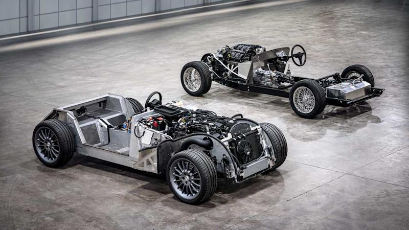 2019 Morgan CX-Generation platform And Traditional Steel Chassis