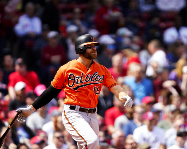"""<a class=""""link rapid-noclick-resp"""" href=""""/mlb/players/8285/"""" data-ylk=""""slk:Chris Davis"""">Chris Davis</a> donated $3 million to a children's hospital. (Photo by Omar Rawlings/Getty Images)"""