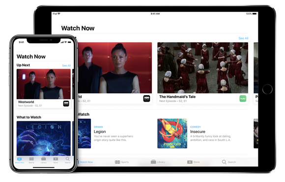 TV app on iPhone and iPad