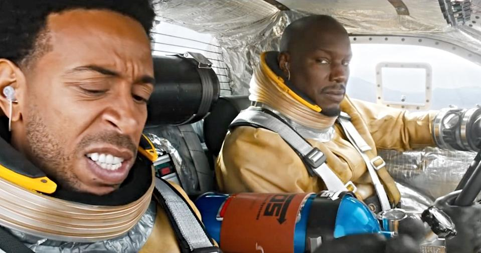 Ludacris and Tyrese Gibson in 'F9' (Universal)