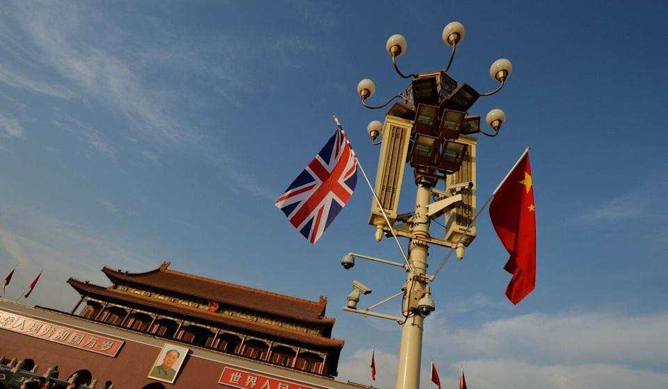 Politicians across the spectrum are becoming increasingly sceptical of Britain's relationship with China. Photo: AFP