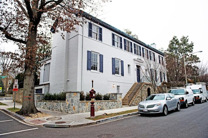 <p>Ivanka Trump's rented DC home goes back on the market, for $18,000 a month</p> (PAUL J. RICHARDS/AFP via Getty Images)