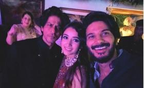 'The Zoya Factor' star Dulquer Salmaan 'starstruck' after meeting Shah Rukh Khan
