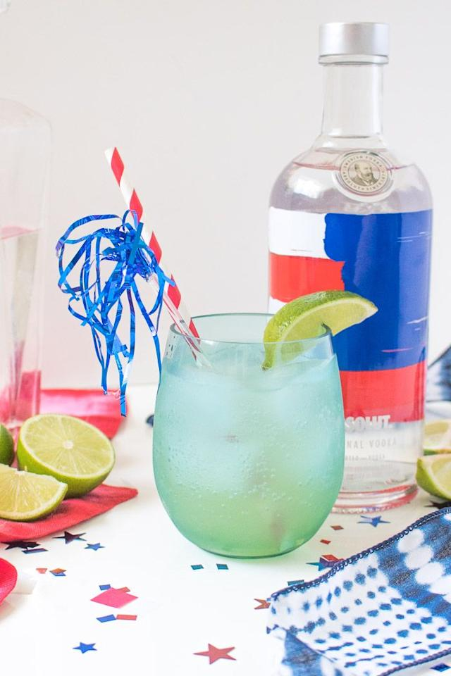 "<p>There's no artificial sugar necessary for this sweet and tart passion fruit mixed drink. <a href=""https://www.amazon.com/4th-July-Straws-Independence-Patriotic/dp/B00V565ABC?tag=syn-yahoo-20&ascsubtag=%5Bartid%7C10055.g.4316%5Bsrc%7Cyahoo-us"" target=""_blank"">Red, white, and blue straws</a> aren't included in the recipe — but personally, we think they're too cute to go without,</p><p><em><a href=""https://www.clubcrafted.com/passion-for-summer-cocktail/"" target=""_blank"">Get the recipe from Club Crafted »</a></em></p>"