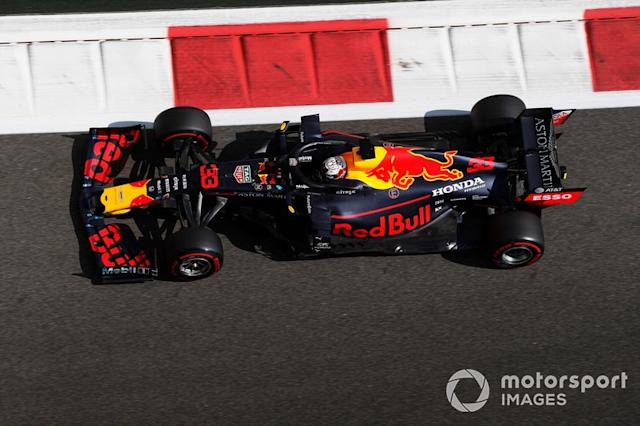 "Max Verstappen, Red Bull Racing RB15 <span class=""copyright"">Zak Mauger / Motorsport Images</span>"
